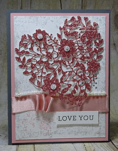 Bloomin' Love Card with Love Blossoms Embellishment Kit