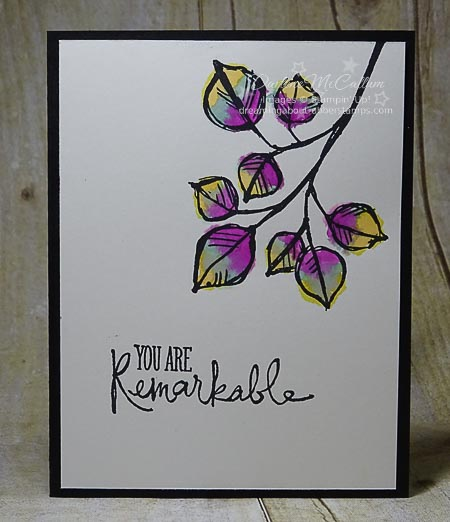 Remarkable You In Color 2014-2016 Card