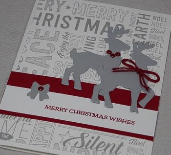 Santas Sleigh Stamp Set and Thinlits