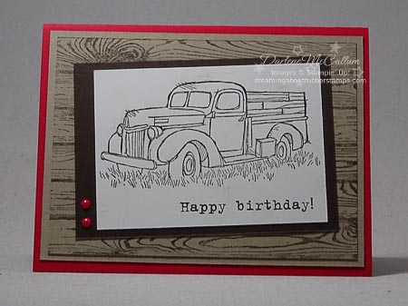 Country Livin' Stamp Set Simple Card