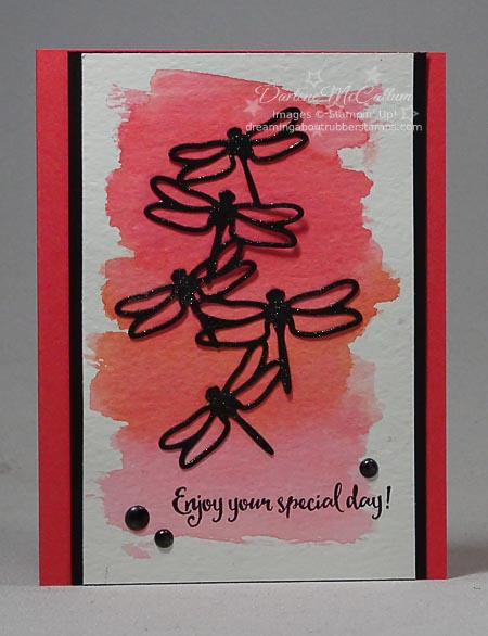 Stampin' Up! Dragonfly