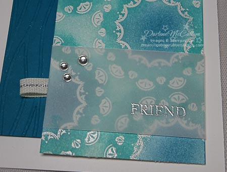Make A Medallion Embossed Close View