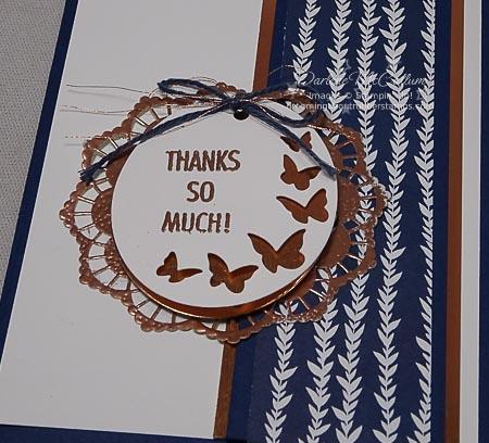 Timeless Tags Framelits Butterflies Card
