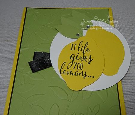 Lemon Zest Stamp Set and Lemon Builder Punch