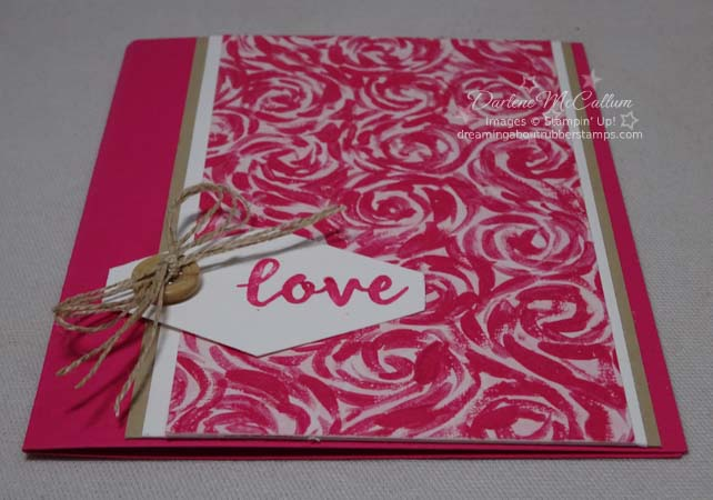 Abstract Impressions by Stampin Up