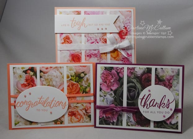 Petal Promenade Friendly Expression Card Trio