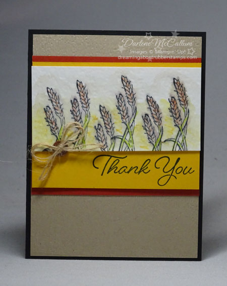 Stampin Up Blended Seasons Fall