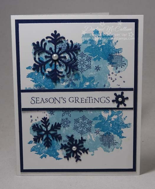 Beautiful Blizzard by Stampin Up