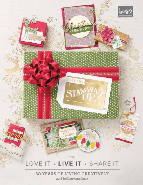 Stampin Up 2018 Holiday Catalogue