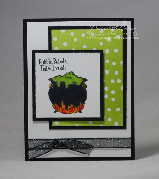 Cauldron Bubble by Stampin Up