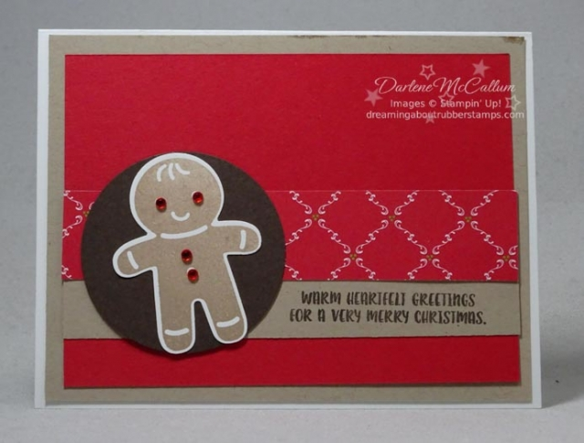 Cookie Cutter Christmas by Stampin Up
