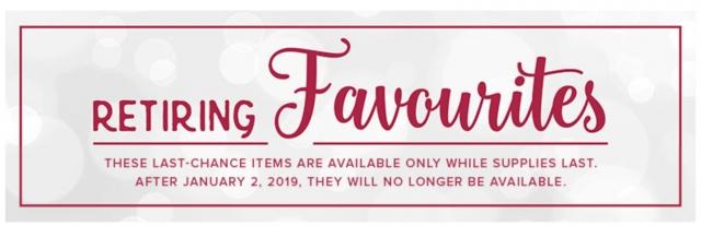 Stampin Up Retiring Holiday 2018 Catalog