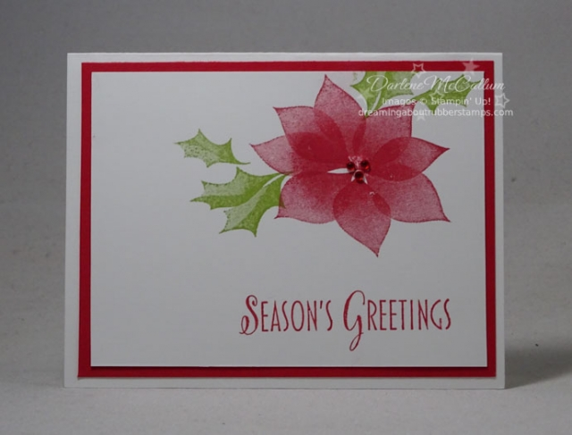Stylish Christmas by Stampin Up