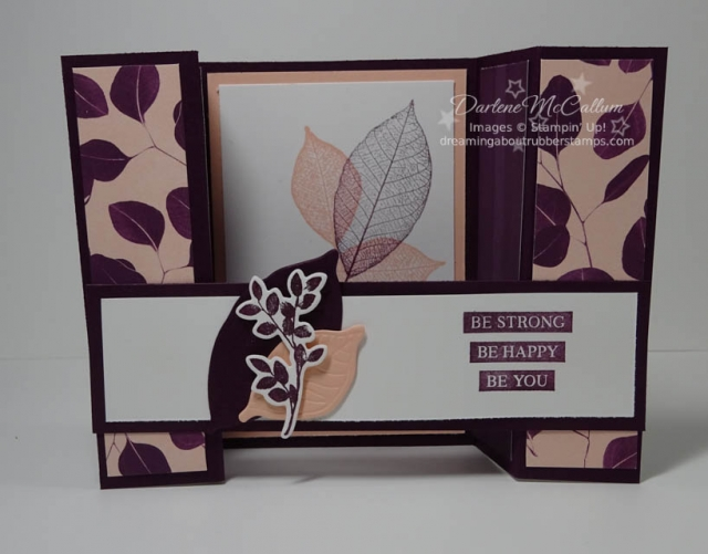 Nature's Poem Designer Series Paper by Stampin Up