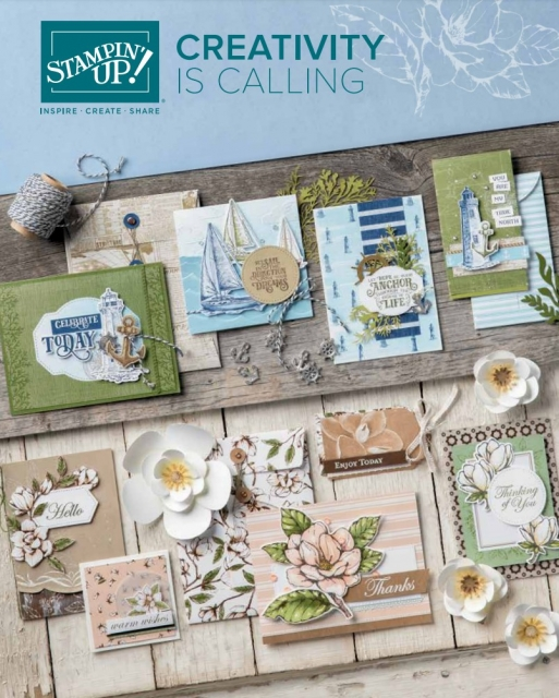 Stampin Up Canada Catalogue 2019-2020
