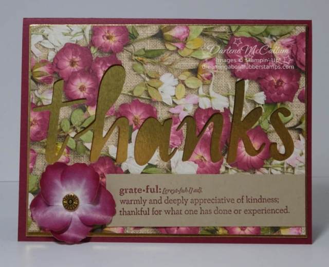 Hand-Lettered Prose by Stampin Up