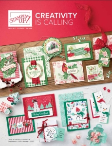 New Holiday 2019 Catalog by Stampin Up Canada