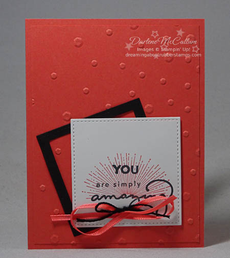 Amazing You and Scattered Sequins Embossing Folder