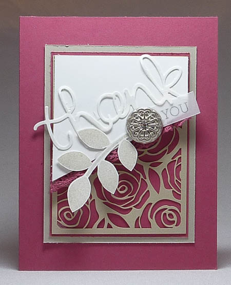 Artisan Embellishment Crazy About You Card