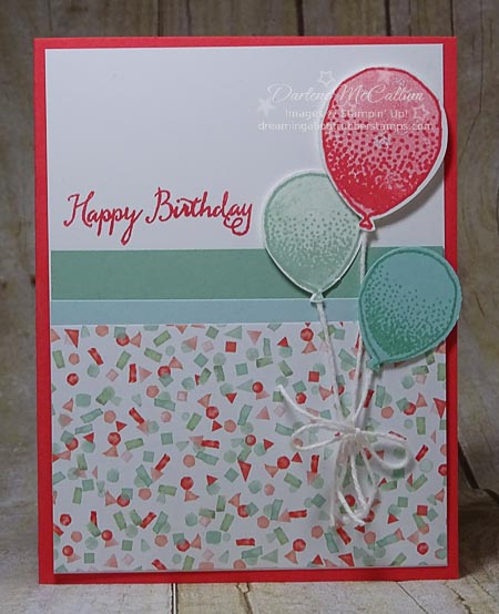 Stampin Up Balloon Celebration Bundle