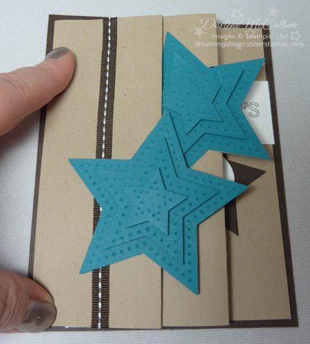 Be the Star Fancy Fold Card Closed
