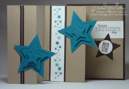 Be the Star Fancy Fold Card