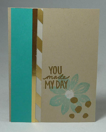 You Make My Day Petal Potpourri Card