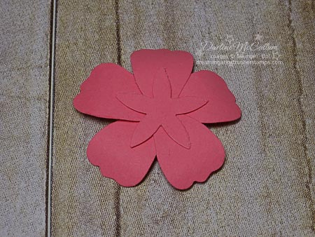 How to attach blossom builder punch flowers