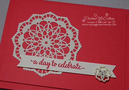 Falling in Love Embellishments by Stampin Up