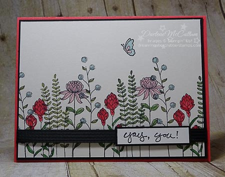 Flowering Fields for Sale-a-bration from Stampin Up