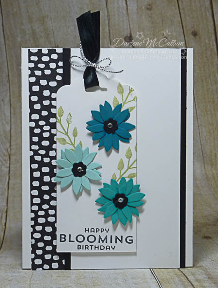 Flower Patch with Flower Fair Framelits Card