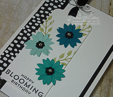 Flower Patch with Flower Fair Framelits Card Close