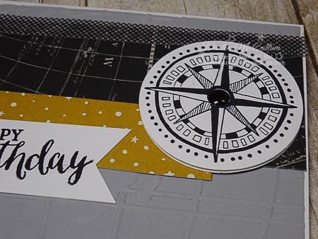 Going Global Stamp Set with Washi