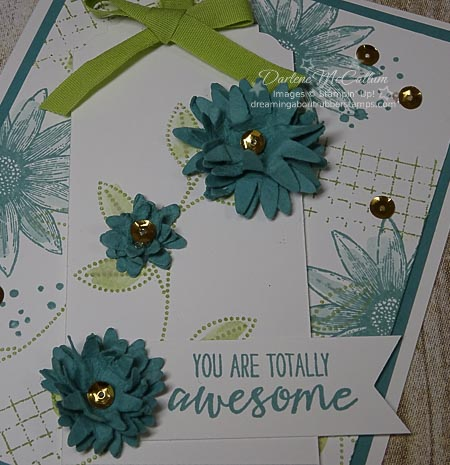 Grateful Bunch Stamps and Blossom Punch card