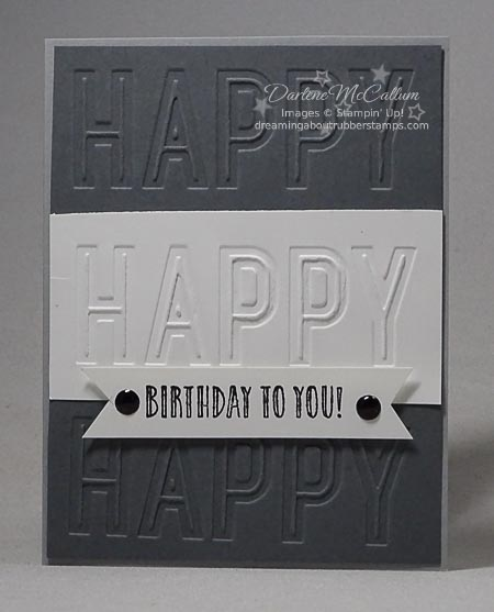 Happy Celebrations Masculine Card