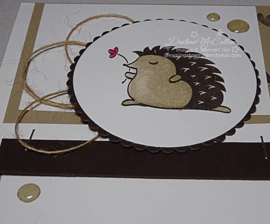 Hedgehugs with Stampin' Blends