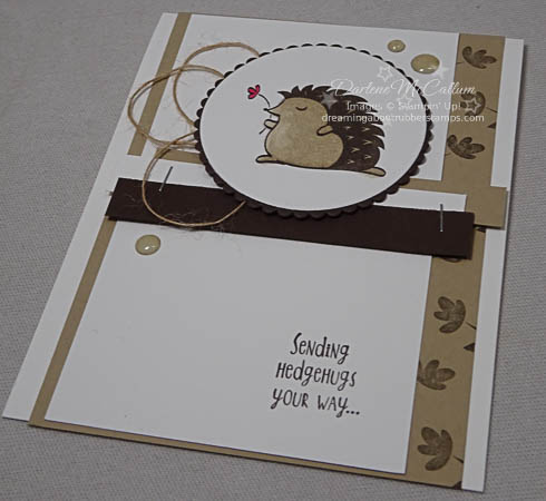 Stampin' Up! Hedgehugs