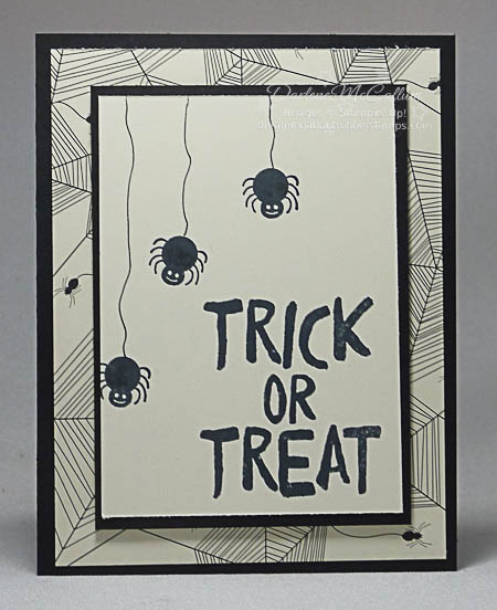 Howl-o-ween Treats Spider Card by Stampin' Up!