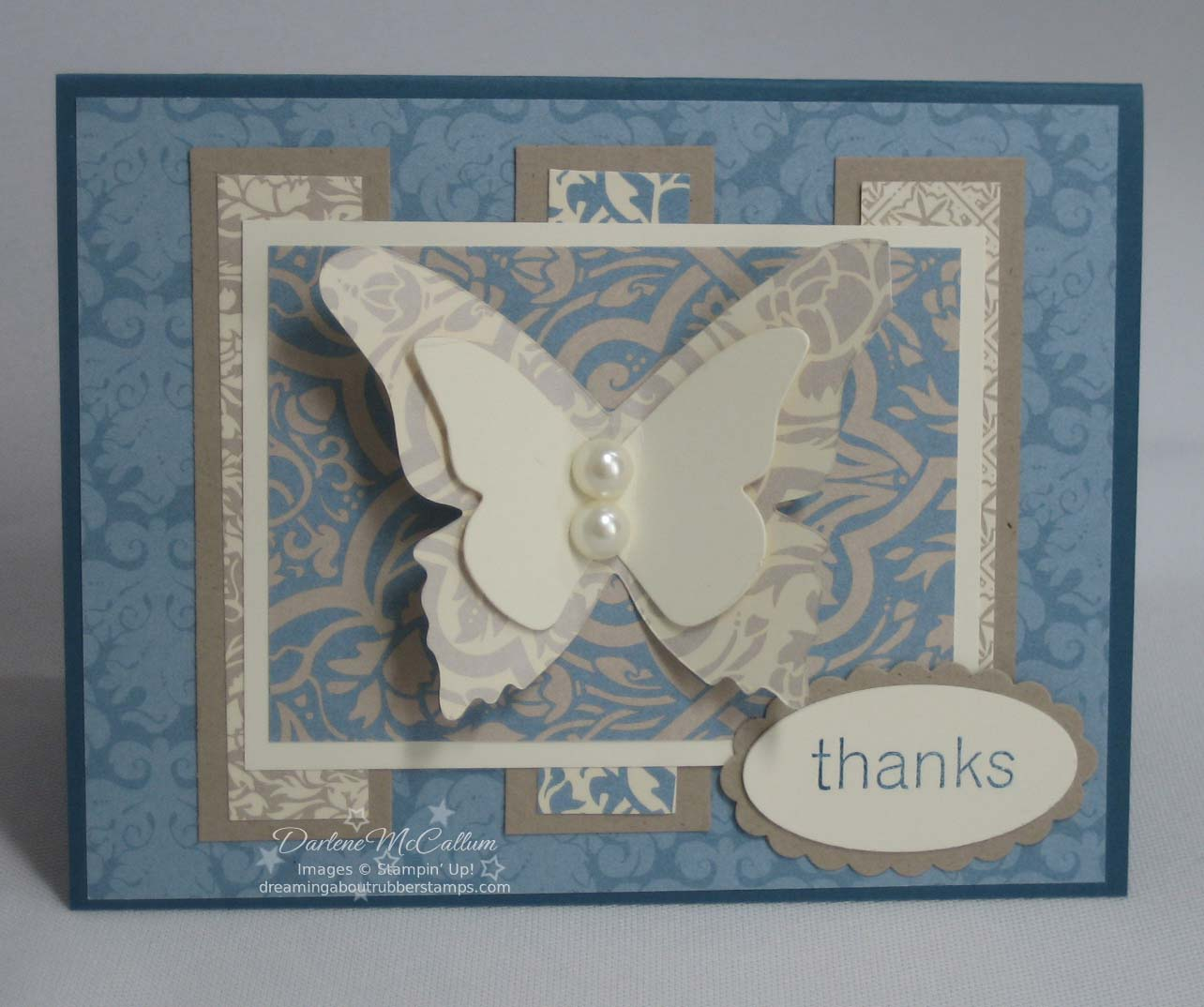 Stampin' Up! Big Shot Butterflies