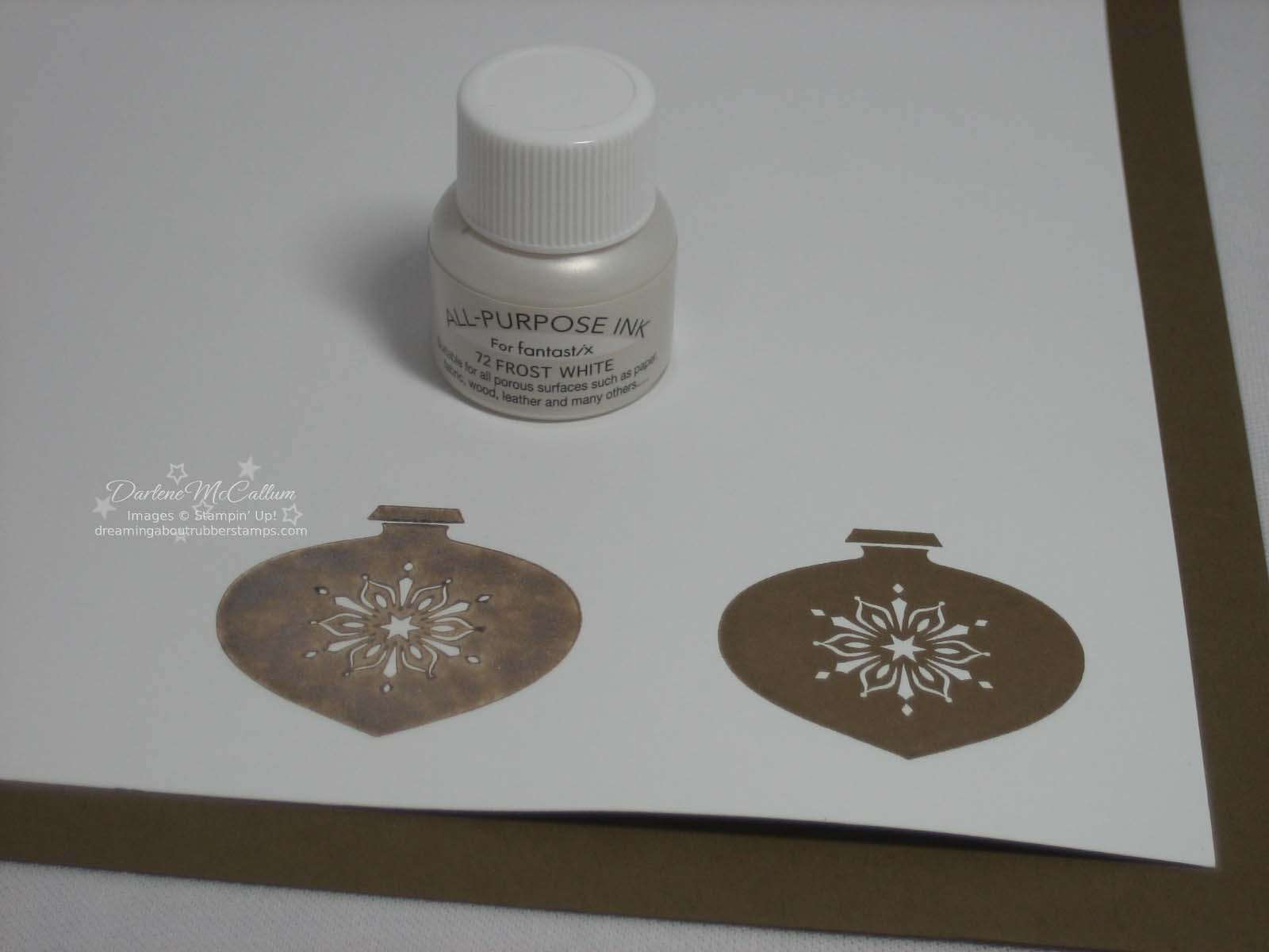 Stampin Up Shimmer Paint