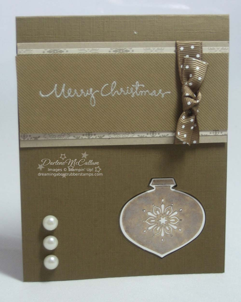 Stampin Up Delightful Decorations