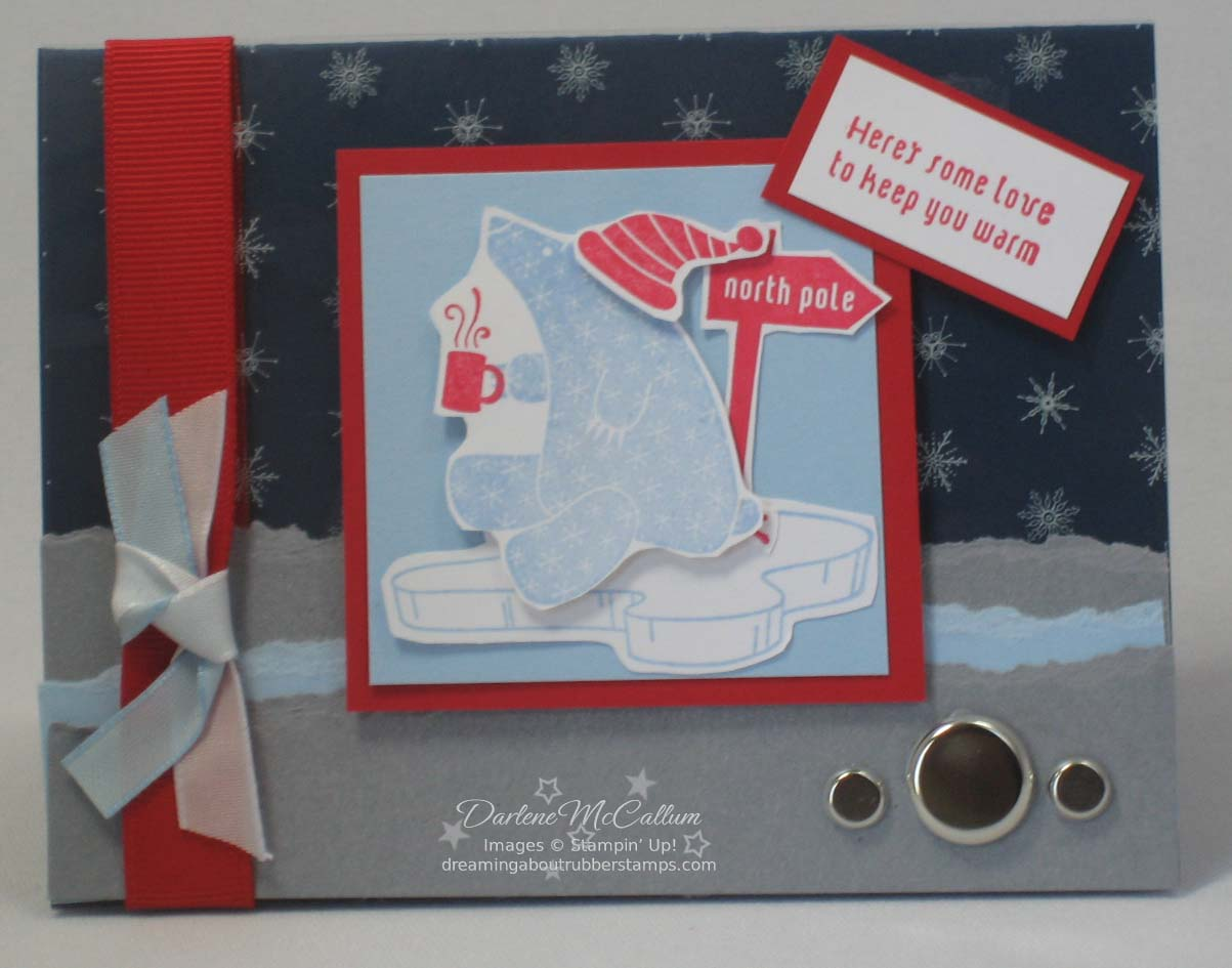 Stampin Up Cold and Cuddly