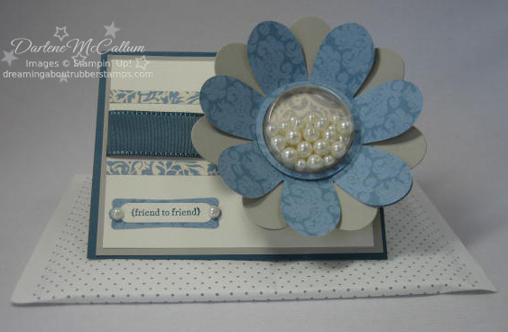 Stampin Up Bella Bleu