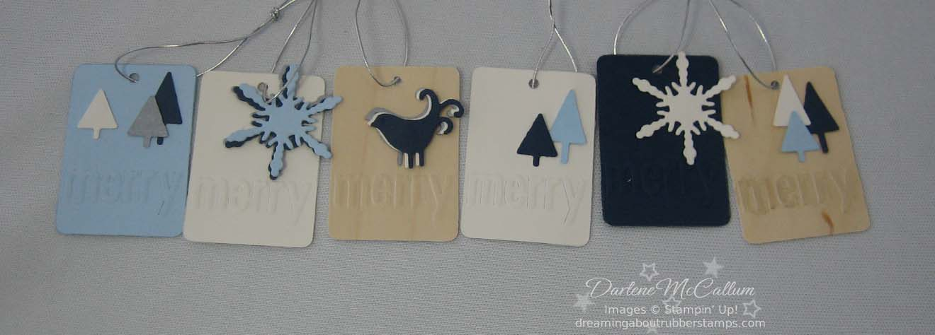 Stampin Up Merry Details
