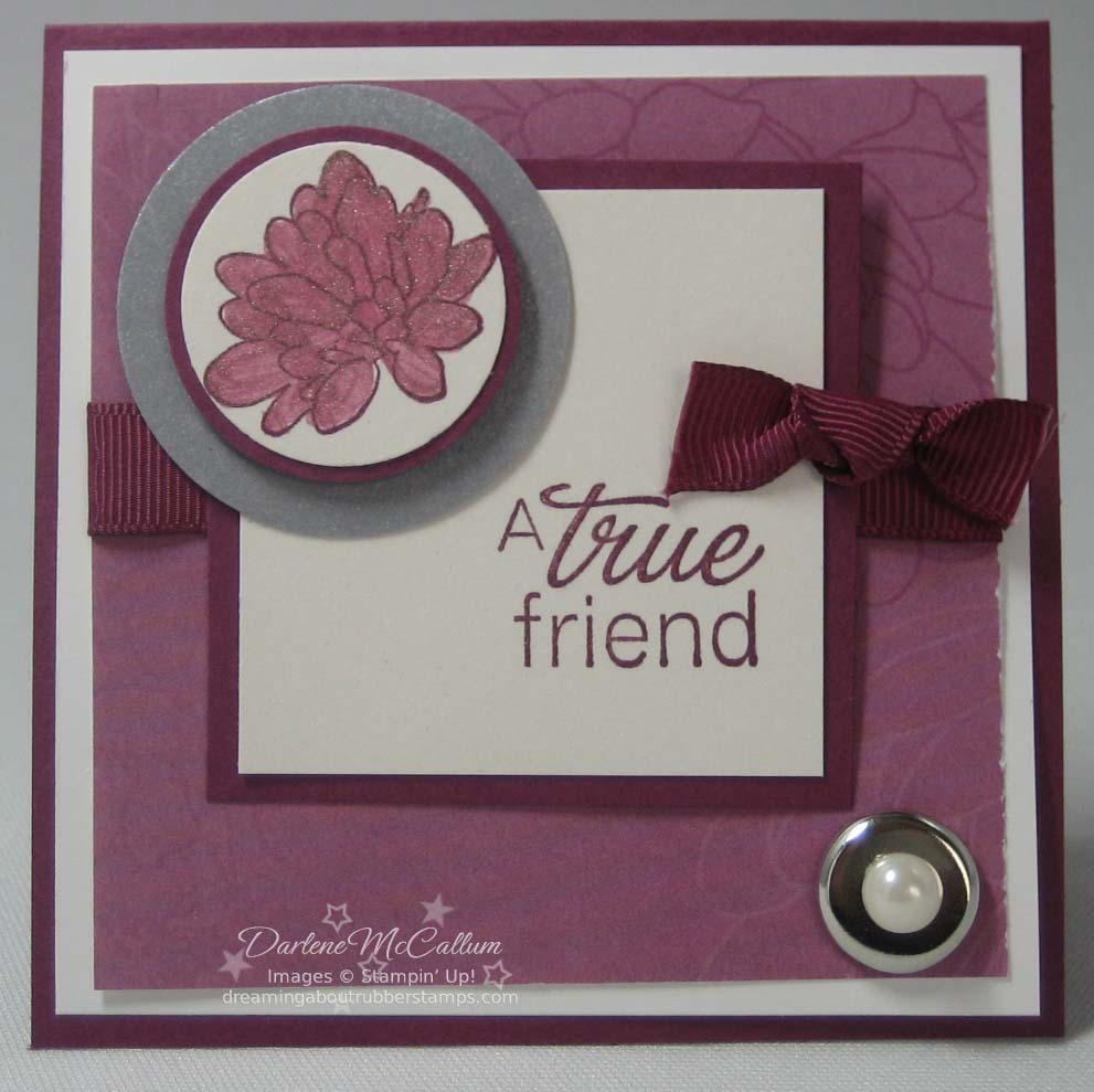 Stampin Up Lovely Lines