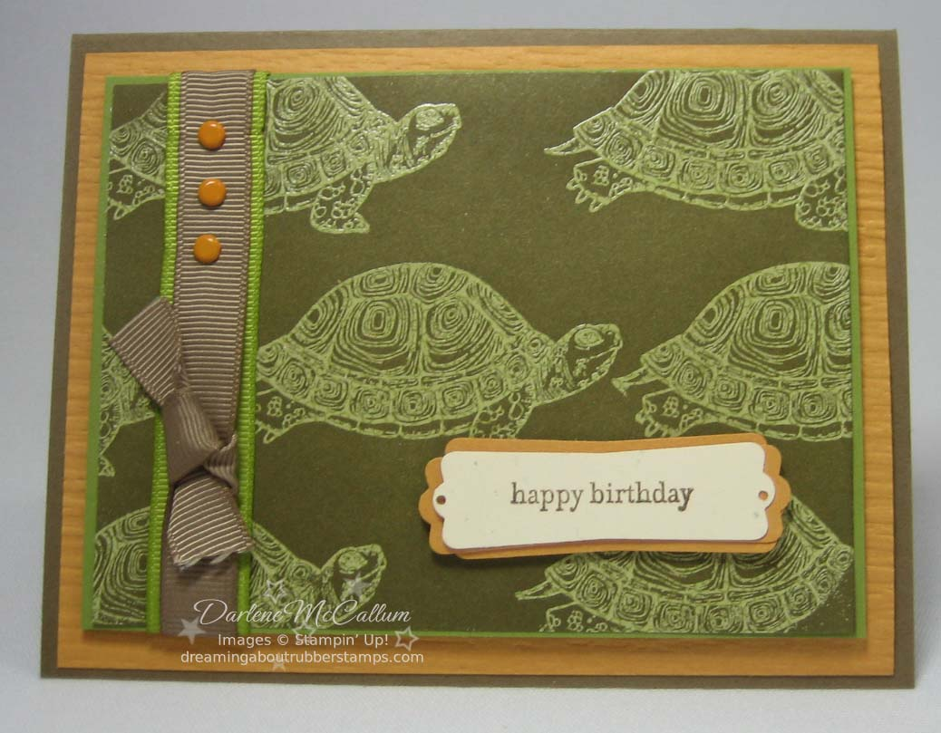 Stampin up natures nest