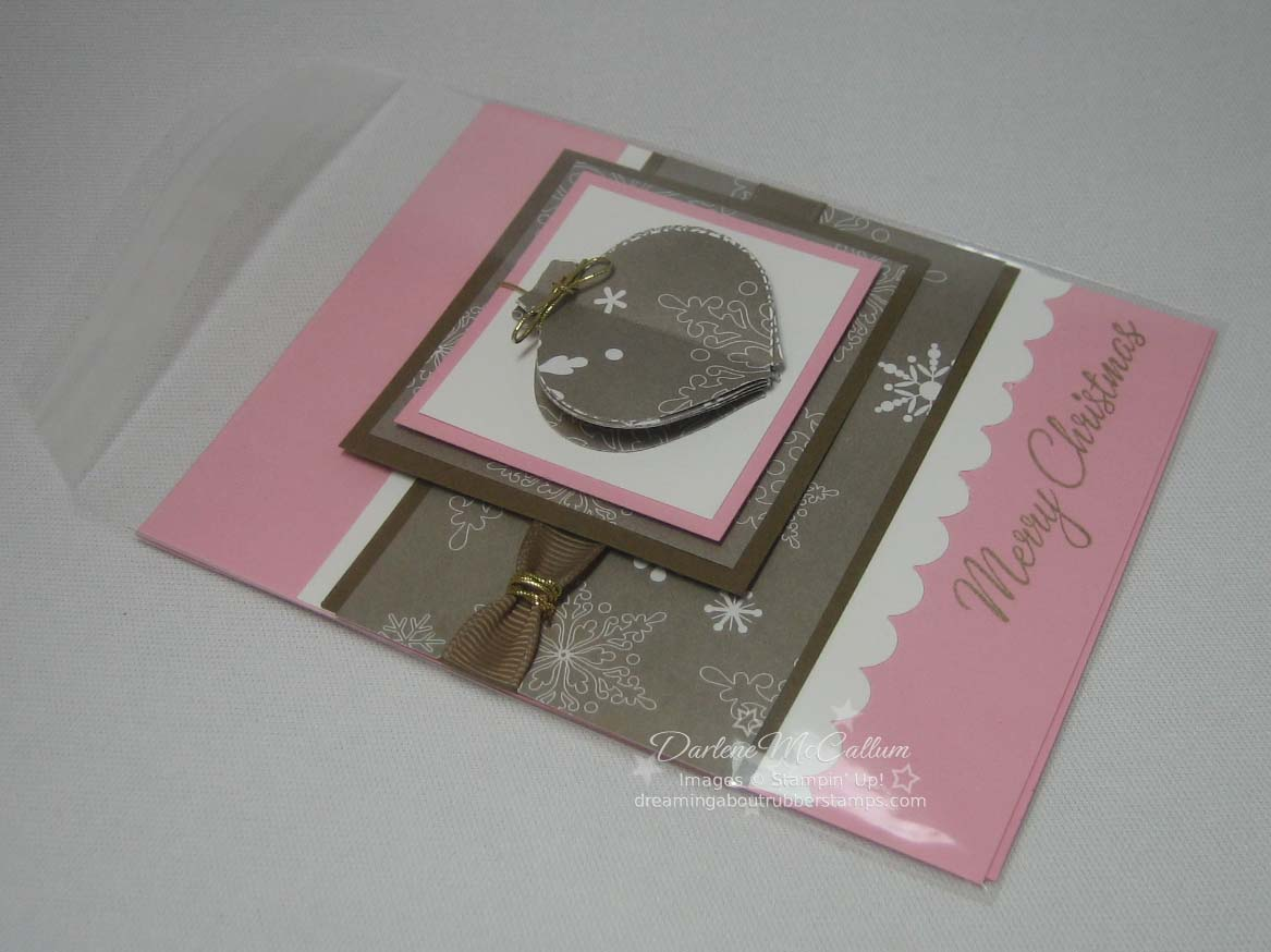 Stampin' Up! pop-up card