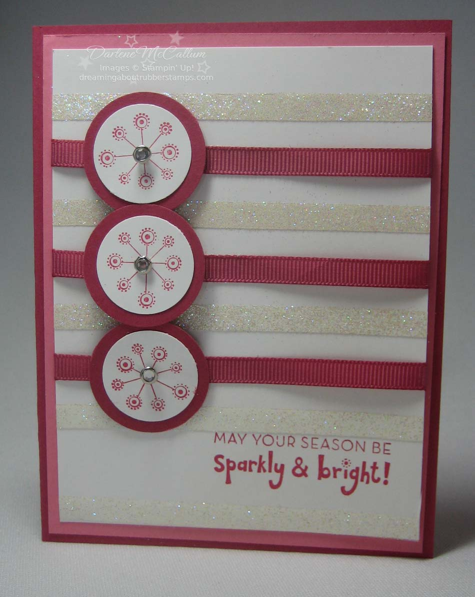 Stampin' Up! Sparkly and Bright