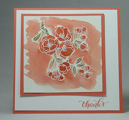 Indescribable Gift Watercolor Card