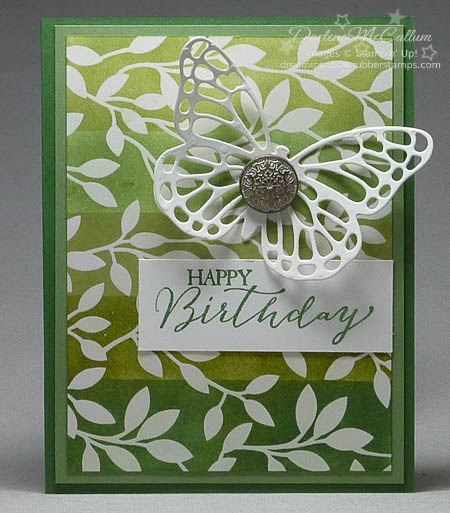 Irresistbily Yours Ombre Card